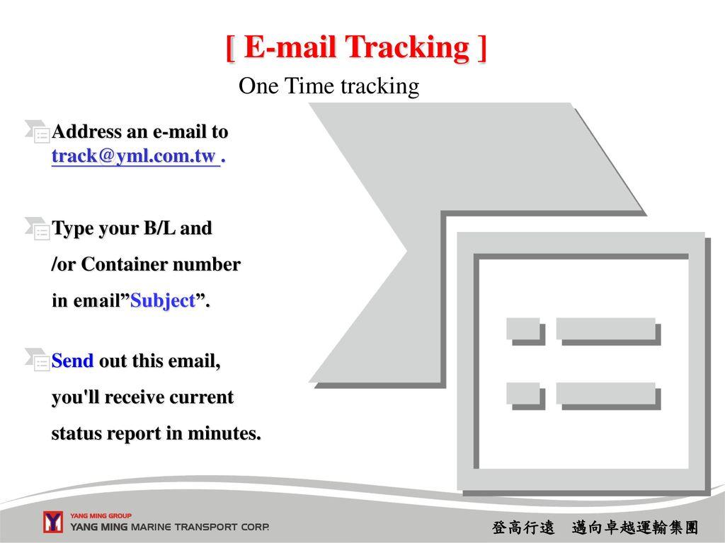 Yml tracking